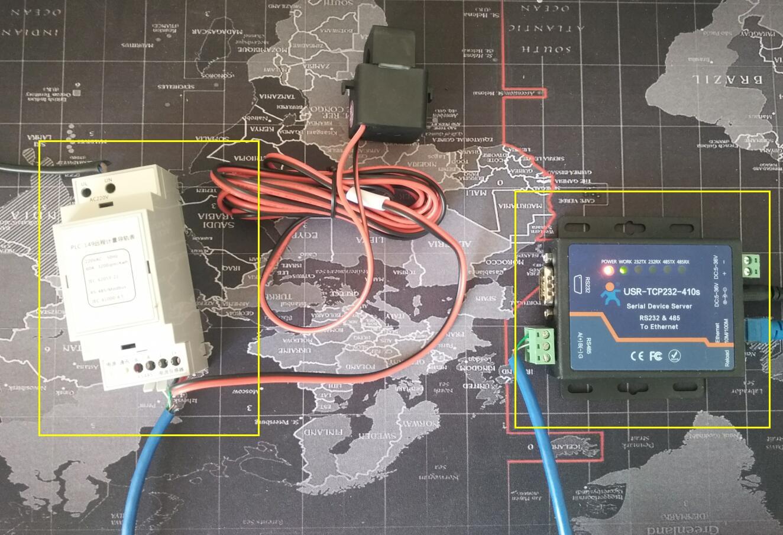 用DTU把JSY-149 单项电表接入乐联网